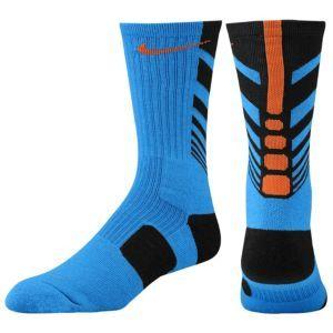Orange Nike Basketball Shoes That Kind Of Look Like Socks
