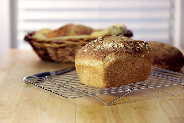 Nutritious bread doesn't have to be dense and bland. Revolutionize your whole grain baking using this Homemade Whole-Grain Bread recipe based on the methods of baking expert Peter Reinhart. You'll make homemade whole-grain bread with a surprisingly light texture and rich flavor.