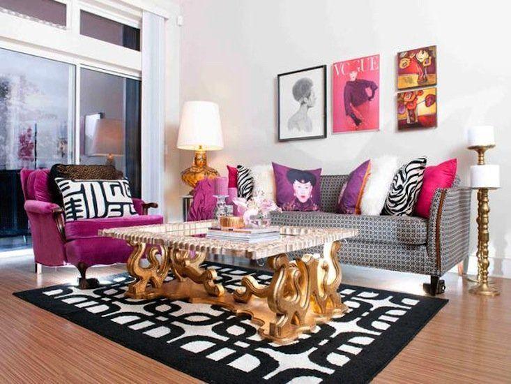 147 best LIVING ROOMS images on Pinterest Living room ideas - black white and gold living room ideas