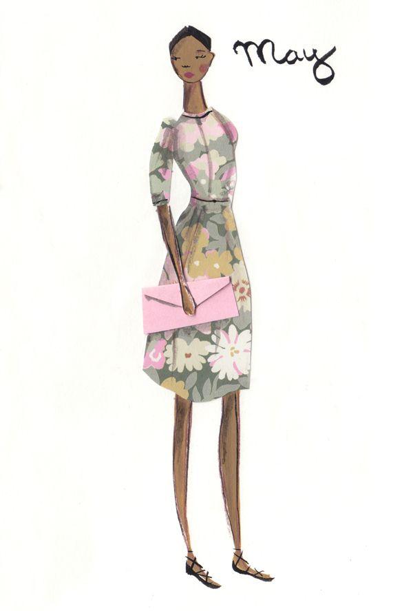 Seasonal Style - Emma Block Illustration
