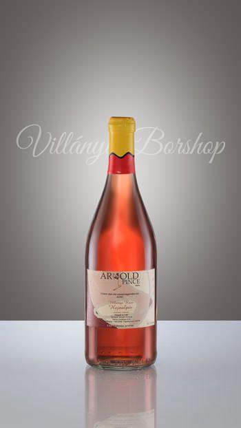 Arnold Hajnalpír (Rosé)  A nevében is mutatja színvilágát, friss, gyümölcsös, üde mind illatában mind ízében.