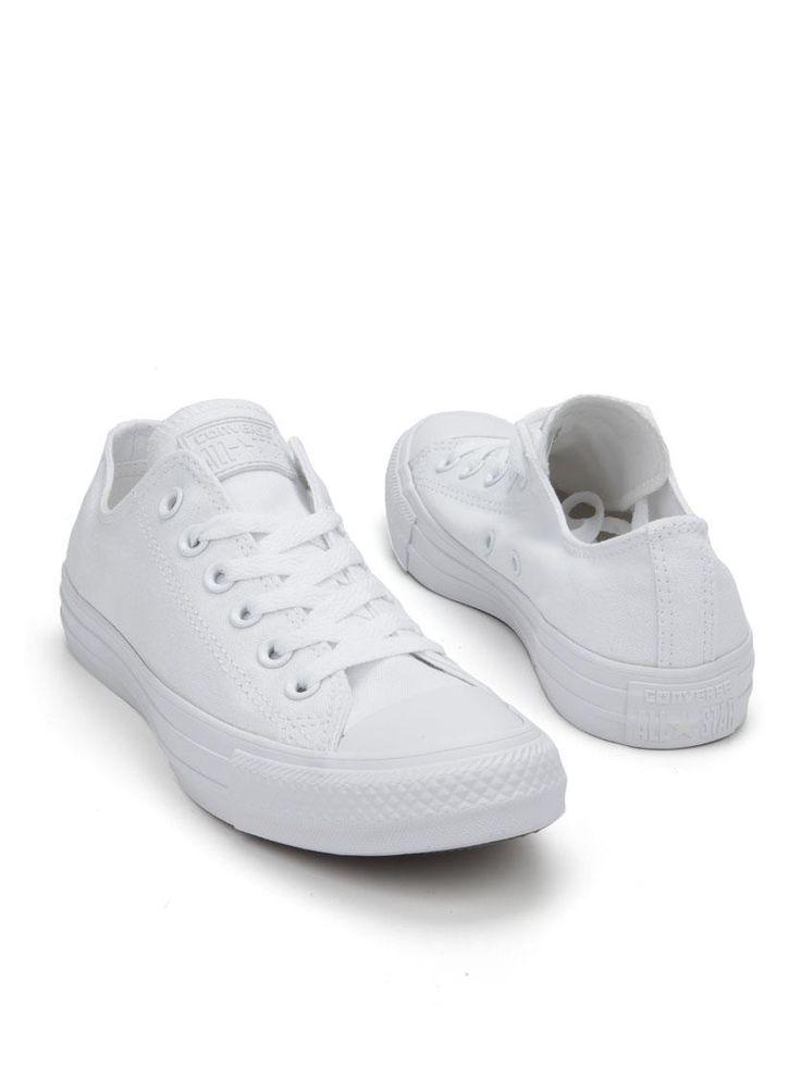Converse Chuck Taylor All Star Seasonal Ox sneaker  Description: Converse Chuck Taylor All Star Seasonal Ox sneakers in het wit. Deze volledig witte sneakers zijn gemaakt van textiel en hebben een kunststof zool.  Price: 45.49  Meer informatie