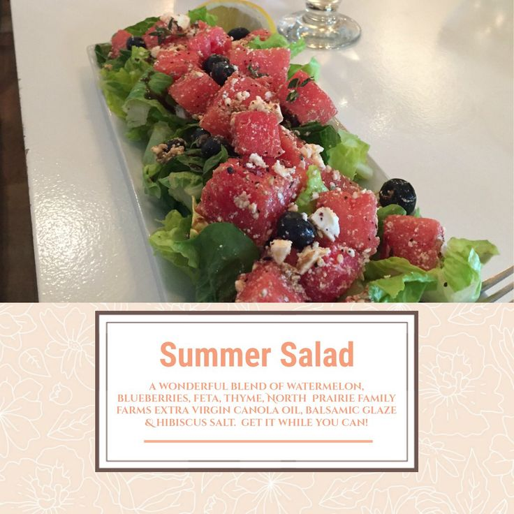 Make your mouth happy with this wonderful summer salad!