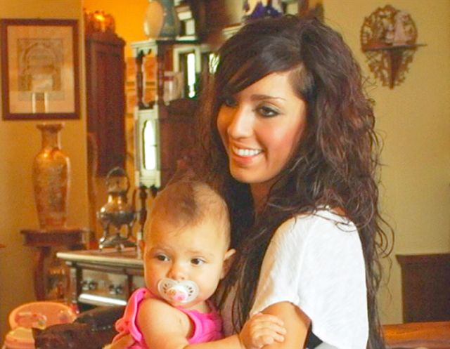 Farrah Abraham: Then In 2009 Abraham was a 17-year-old high school cheerleader, who got pregnant when she lost her virginity on prom night to her ex-boyfriend Derek Underwood. Underwood tragically died in a car crash two months before Abraham gave birth to her daughter Sophia. The show followed Abraham's volatile relationship with her parents while raising Sophia on her own.   Read more…