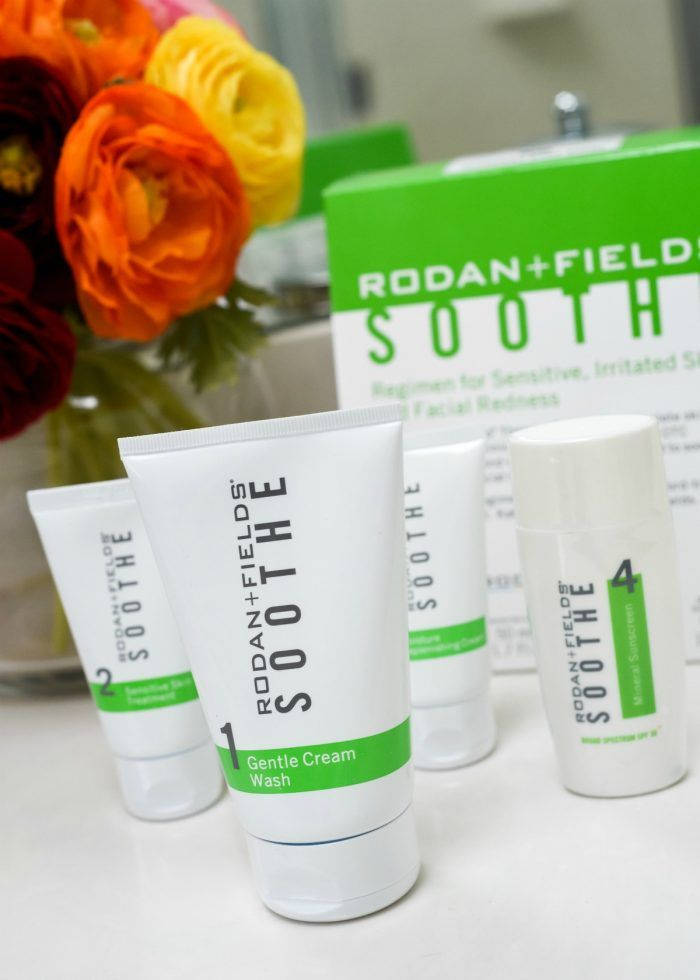 A Rodan and Fields Soothe Regimen Review by Jo-Lynne Shane, 43-year-old style and beauty blogger and Rodan + Fields consultant.