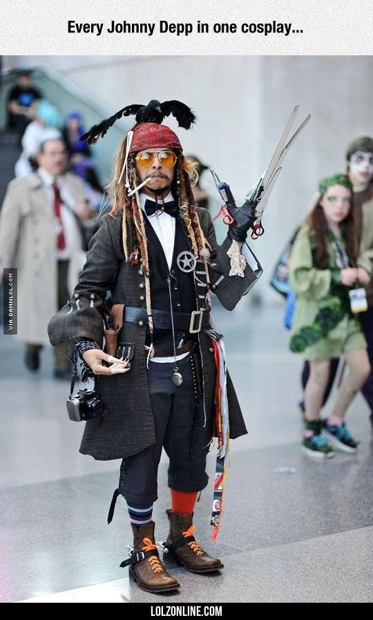 All In One Cosplay #lol #haha #funny