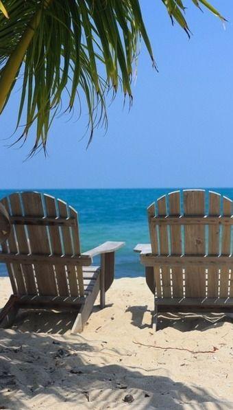 beach watching...