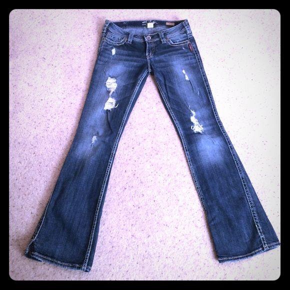 Silver Jeans - Frances 18&quot Bootcut