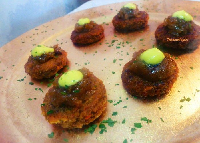 Mini hamburguesas de seit n receta minis y recetas for Cocinar seitan