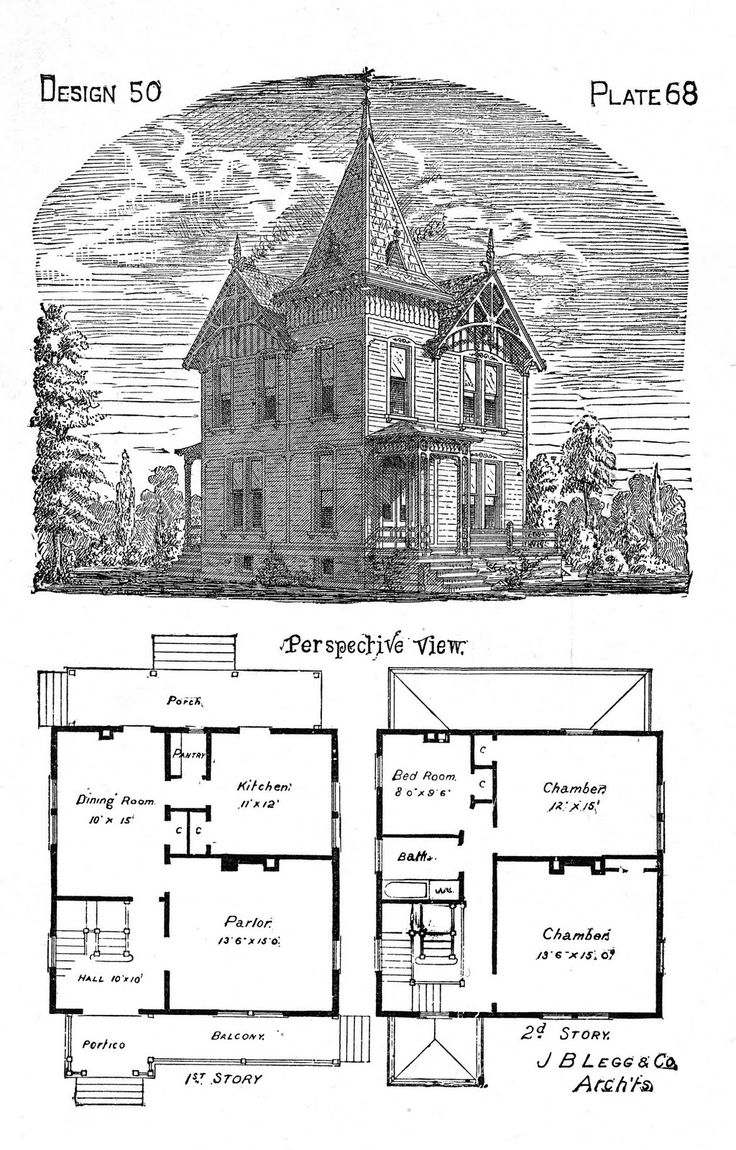 25 best ideas about vintage houses on pinterest Victorian cottage plans