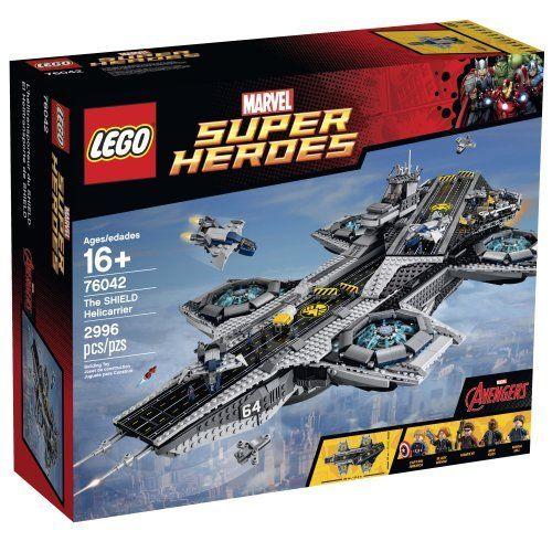 #lego #Lego76042 #76042 #Marvel #marvelsuperheroes #captianamerica #nickfury #ironman #legomarvel #legomarvelsuperheroes #marvelavengers #helicarrierlego