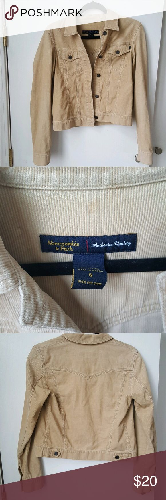 Abercrombie and Fitch corduroy jacket The jacket is in great condition Abercrombie & Fitch Jackets & Coats Jean Jackets