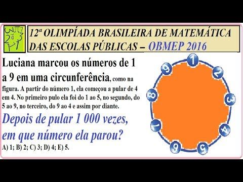 Princípio Fundamental da Contagem, PFC, círculo, contagem circular, progressão aritmética, PA, sequência de números, estatística descritiva, probabilidade, pulos sequenciais, operações matemáticas básicas,