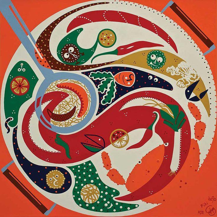 Fihi Roq Srylyn Dejo Toyism Art - The Taste of Collaboration.