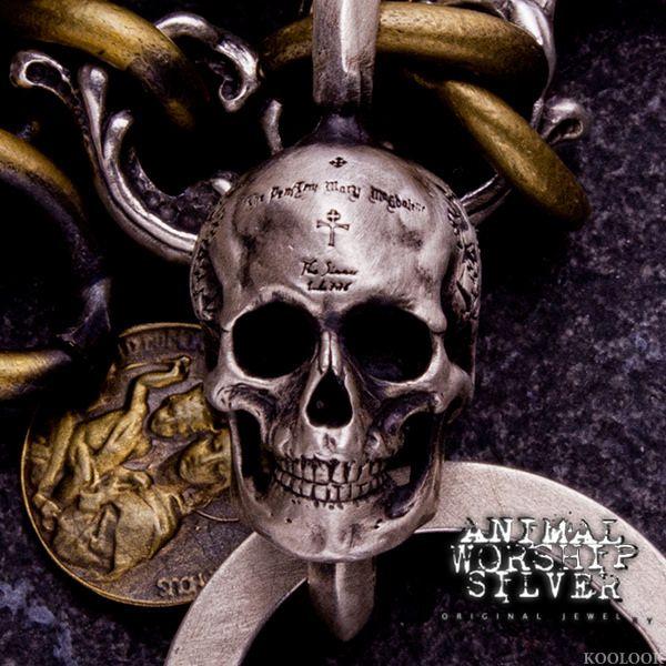 #ANIMALWORSHIP #skull #飾品 #骷髏 #銀飾 #鑰匙圈 #Keychain