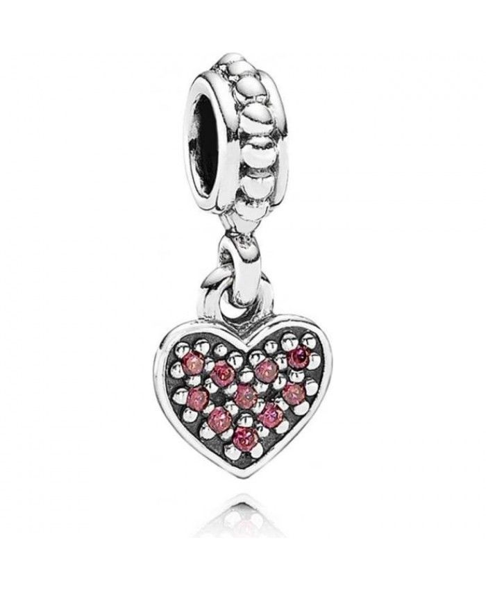 PANDORA Red Pave Heart Pendant Charm 791023czr A lot of your favorite style will be here for you to show, work well, very cross the meaning of the times.