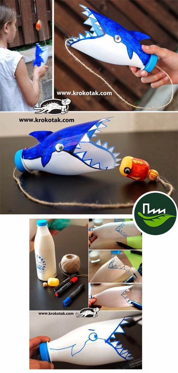Juguetes creativos #reutilizando #reciclando #jugando #juguetes
