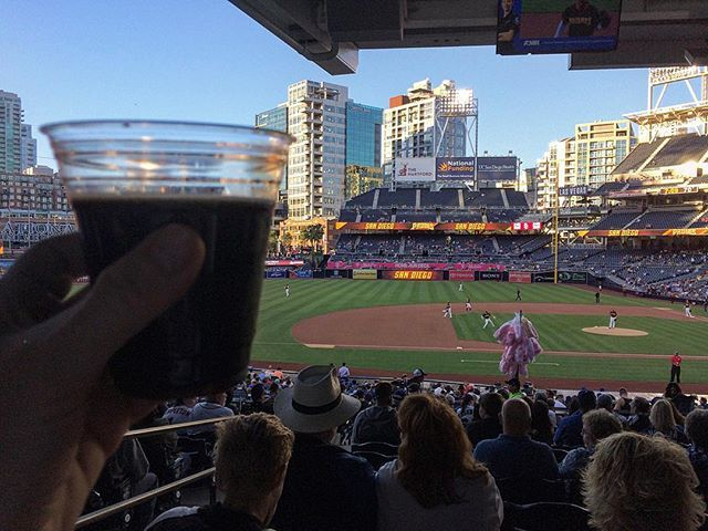So far so good, but it's still early. Go Padres. @belchingbeaver Peanut Butter Milk Stout on Nitro, umm thank you. #gopadres #sandiegopadres #sofarsogood #petcopark #beerfestatpetco #beersandbaseball #lifeinsd #sandiego #sandiegoconnection #sdlocals #sandiegolocals - posted by  https://www.instagram.com/sdbeertour. See more San Diego Beer at http://sdconnection.com