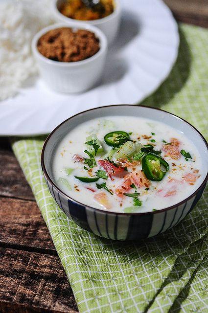 Cucumber Tomato Raita Recipe | Indian Raita Recipes by Nags The Cook, via Flickr