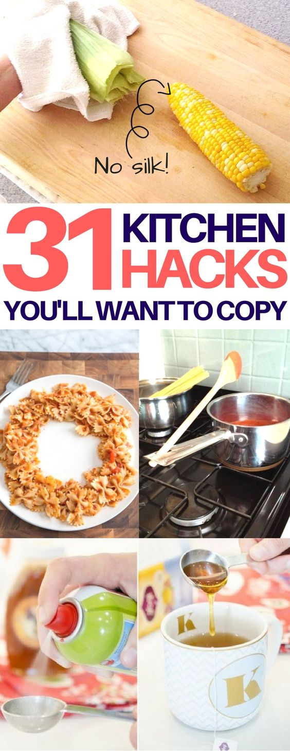 Brilliant kitchen hacks to save you time and money. Fix stale bread, flat champagne, & unevenly heated leftovers. Plus, many more genius food tips & tricks!