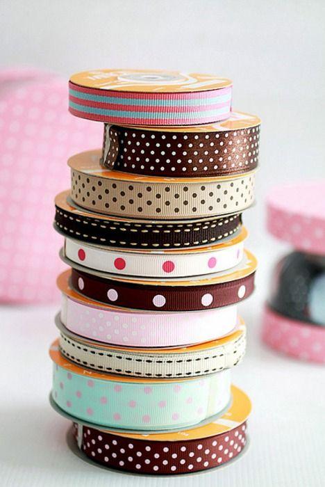 ribbon, ribbon and more ribbon