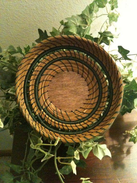Basket and beads