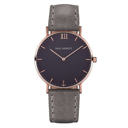Paul Hewitt Uhr PH-SA-R-St-B-13M https://www.thejewellershop.com/ #paulhewitt #hewitt #ph #grey #men #fashion #bracelet #uhr #herren #watch #jewelry #schmuck