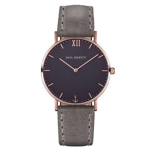 Paul Hewitt Uhr PH-SA-R-St-B-13M https://www.thejewellershop.com/ #paulhewitt #hewitt #ph #grey #men #fashion #bracelet #uhr #herren #watch #jewelry #schmuck