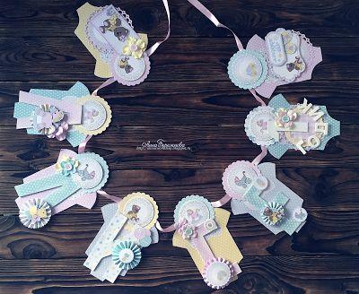 C.h.e.a.p.-art: Вдохновение от ДК. Анна Бережнова: Декор для празднования первого дня рождения малышки