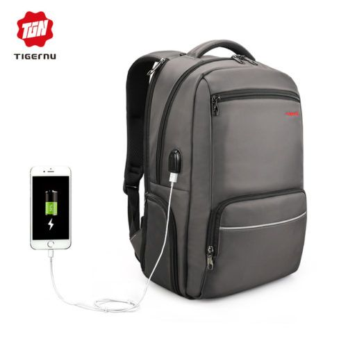 f589606d50 Tigernu Travel Laptop Backpacks Nylon Waterproof Anti Theft Men Male  Mochila 15.6 inch Large Capacity School Bags