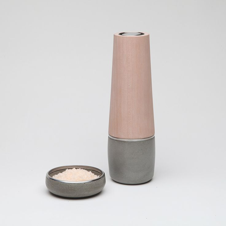 New Melbourne-based studio Hank have released a stainless steel version of Forbes & Ike - but only in a limited run of 50...  http://sorrythanksiloveyou.com/products/view/salt-basin-and-pepper-mill-hank
