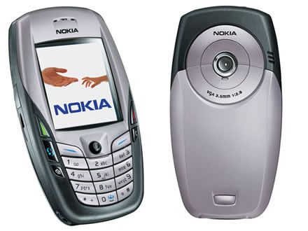 Nokia's 6600, the first Symbian Series 60