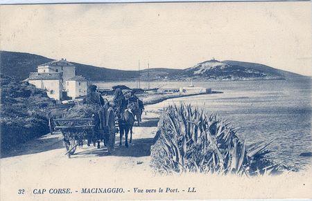 Macinaaggio dans le Cap Corse Nouvelles cartes de Corse