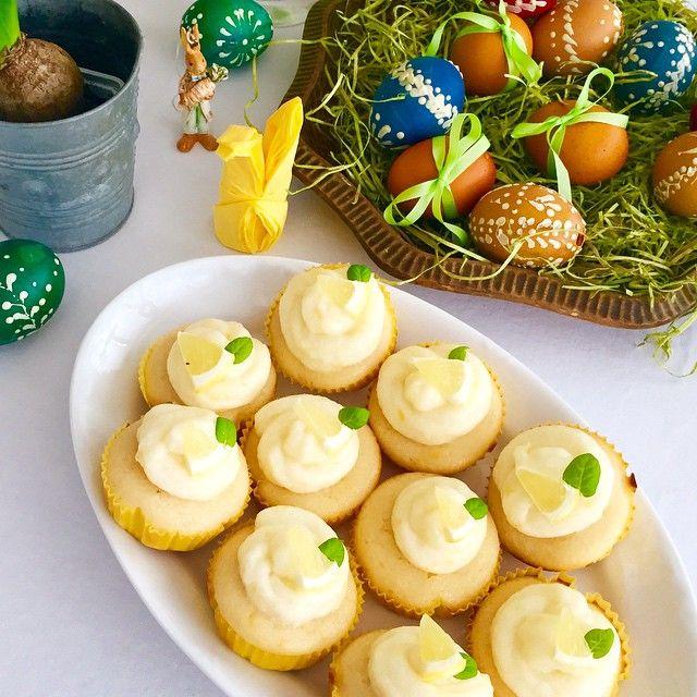 Citrónové cupcakes byly báječné, nejen na Velikonoce! Lemon cupcakes were wonderful, not only for Easter!  #Recipeoftheday is now on my #foodblog @cookbook_by_alex