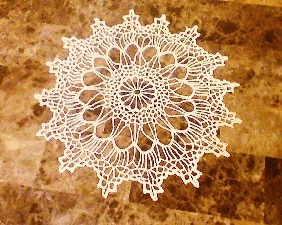 Hey, I found this really awesome Etsy listing at https://www.etsy.com/listing/182130565/wedding-crochet-doily-cream-crochet