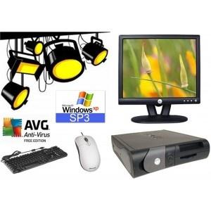 """!! In The SpotLight !!     DELL GX280 SFF MET DELL E172FBP SCHERM.    Deze degelijke set zal niet misstaan op de kamer van uw zoon of dochter.  De GX280 heeft een 2.8 Ghz Pentium IV processor, 2.5 Gb intern en een HDD van 40Gb. Het systeem word geleverd met een E172FPb 17"""" TFT-scherm.  Naast Windows XP Pro is diverse handige free-ware geinstalleerd zoals AVG antivirus, een  must voor elk systeem. Met Dell toetsenbord en Microsoft muis.    http://computer4sale.nl/product.php?id_product=401"""