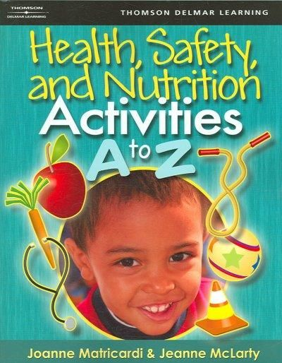 Health, Safety, and Nutrition A to Z gives teachers and parents a detailed lesson plan format of open-ended, age- appropriate activities for young children ages one and up. The activities are easy-to-