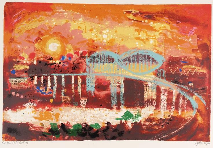 John Piper - Saltash Bridge