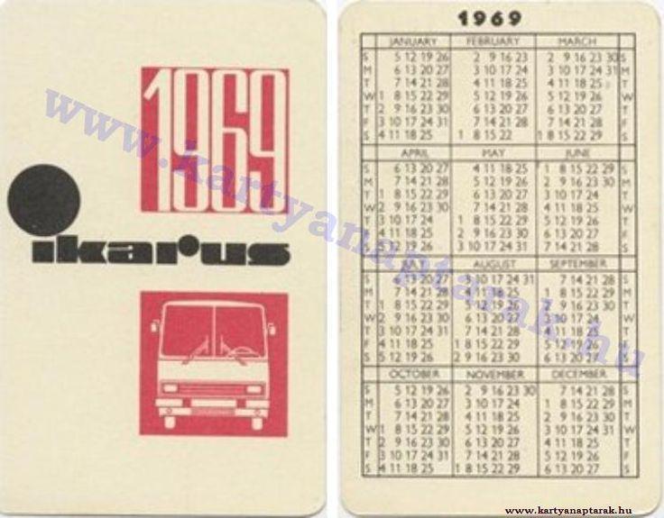 1969 - 1969_0321 - Régi magyar kártyanaptárak