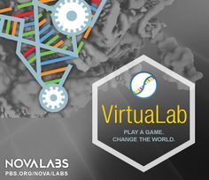RNA VirtuaLab from PBS NOVA Labs Learn about RNA, solve RNA folding puzzles, and design RNAs to help scientists in determining life-saving therapies! So cool!