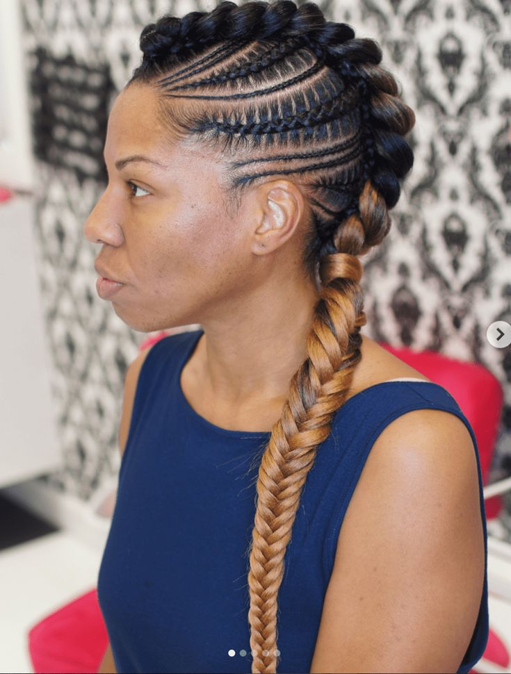 15 Glorious Examples of Feed-In Stitch Braids You May Want to Rock This Fall –