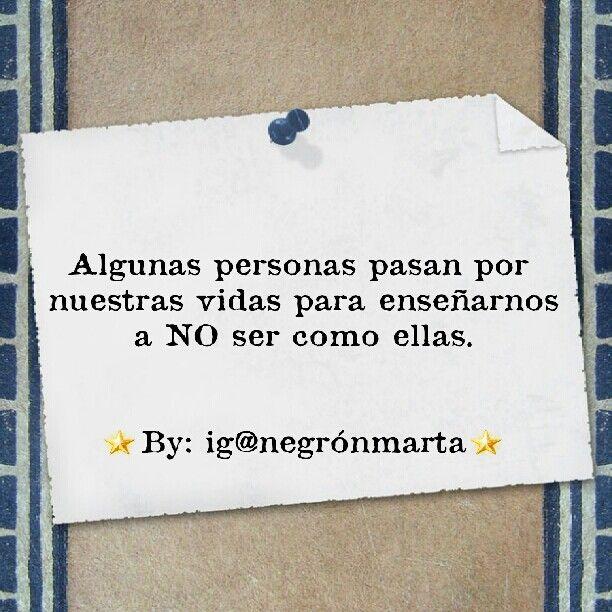 Sé original. (By me: ig@negrónmarta)