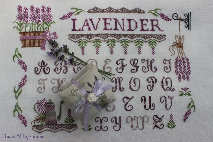 Lavender sampler
