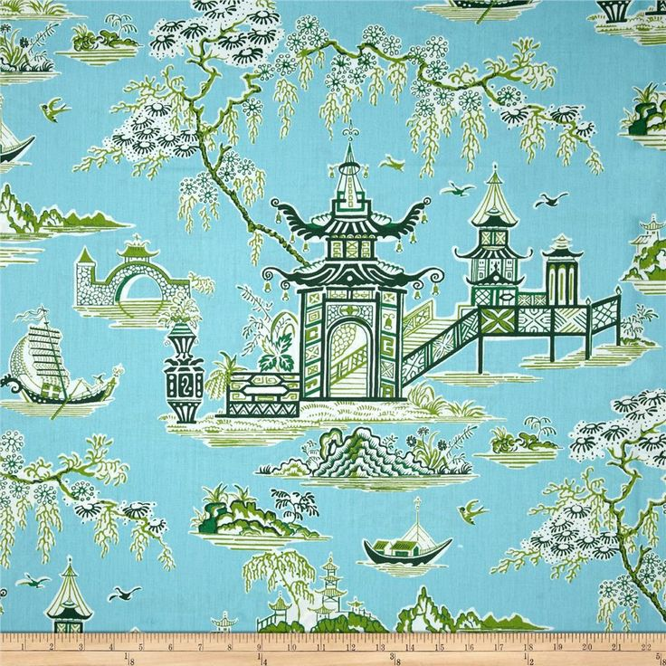 21 Best Toile Wall Paper Images On Pinterest: 54 Best Images About Toile And Willow Pattern On Pinterest