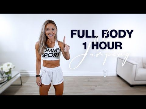 4 1 hour full body workout at home  no equipment  no