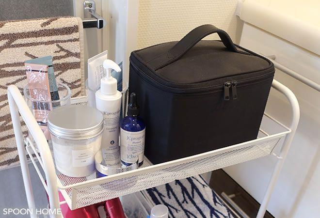 Ikeaのhornavanワゴンが便利 洗面所やキッチン デスク横の収納におすすめ 収納 収納 アイデア キッチン デスク
