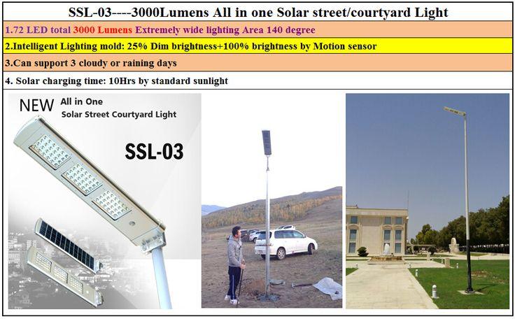 2016 Nieuwe ontwerp geïntegreerde zonne-straat licht 30 w zhongshan met ce-certificaat