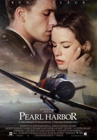 30 Day Movie Challenge:  Day 8, Pin 1: A movie that makes you sad?  Answer:  Pearl Harbor.