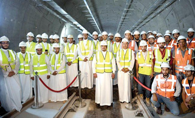 Riyadh public transport project is 57% complete, says acting governor http://betiforexcom.livejournal.com/27413202.html  Author:ARAB NEWSMon, 2017-08-07 03:00ID:1502056420194893600JEDDAH: Prince Mohammed bin Abdulrahman bin Abdul Aziz, acting Riyadh governor and vice-chairman of the Higher Committee for the implementation of the King Abdul Aziz Project for Public Transport in Riyadh, visited the Riyadh Metro project on Sunday. He was briefed on the developments and working techniques, as…