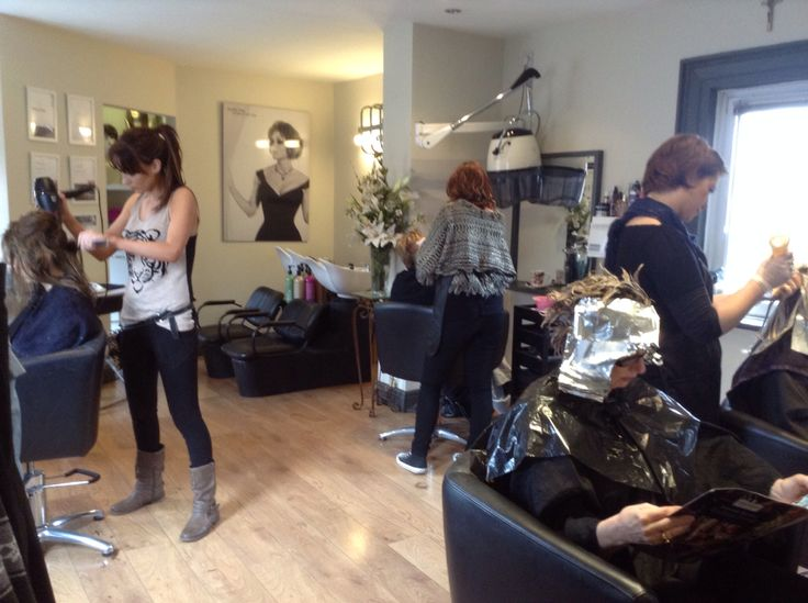 Picking up new colour ideas with Isabelle from Redken